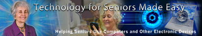 technology for seniors made easy header icon