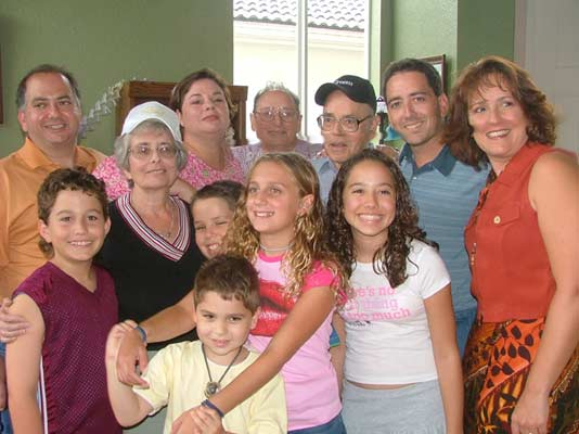 Sam Finkelstein and Family - 45th party 2005